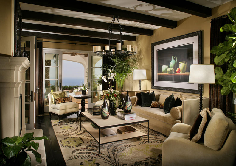 Model Meuble Salon Saddleback Interiors Chosen To Design Model Homes For