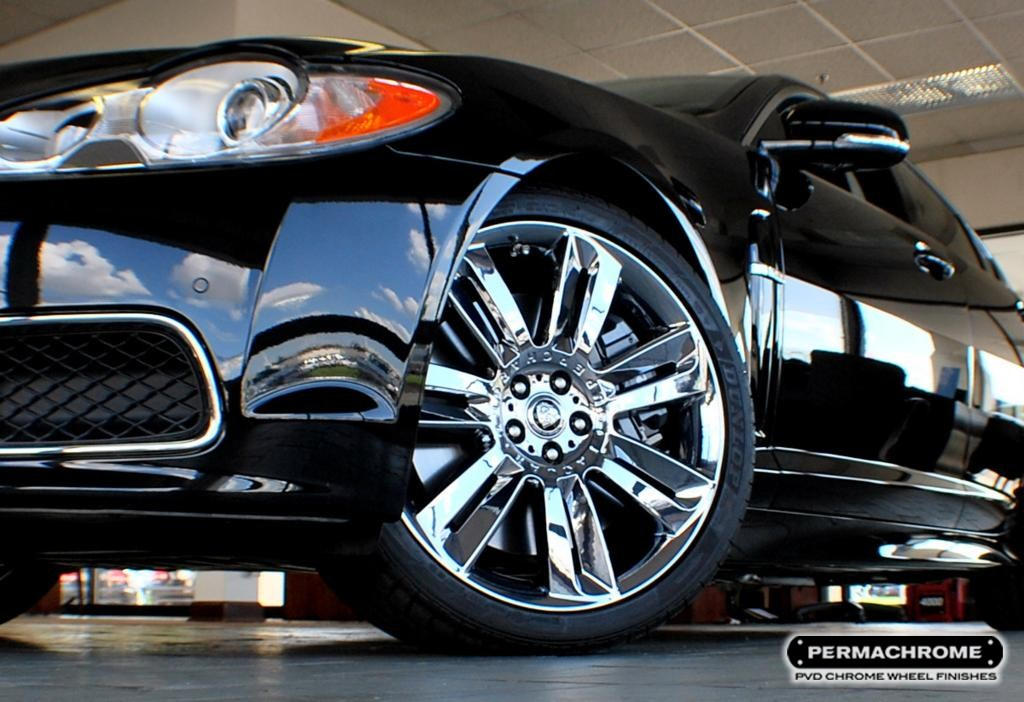 Factory Original Manufacturer Permachrome Pvd® Stunning Factory Chrome Wheels Without