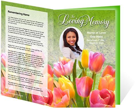 New Funeral Program Customization Services Create Lasting Memorials