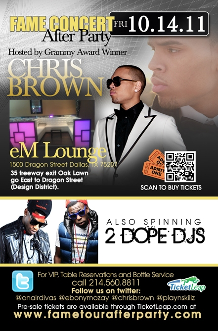 Lounge Set Actor And R&b Mega Star Chris Brown Is Set To Host His F.a