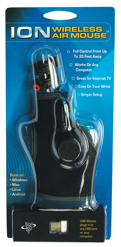 Air Ion It's Here. The New Ion Wireless Ergonomic Air Mouse Glove
