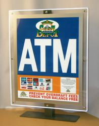Cash Depot Offers Highly Illuminated ATM LCD Sign Topper