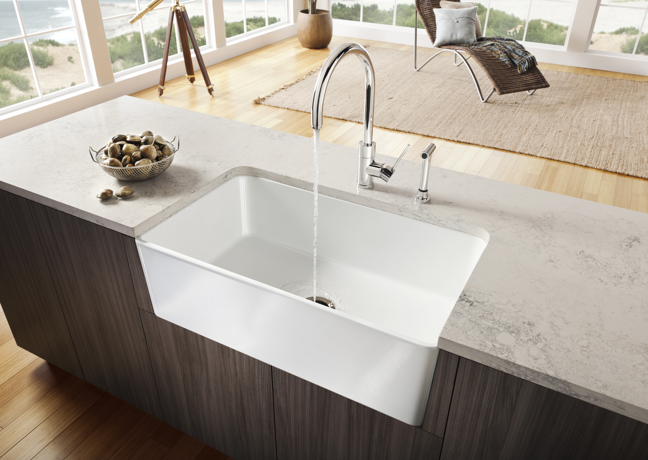 Network Küchen Blanco Introduces The Cerana™ Apron Front Kitchen Sink