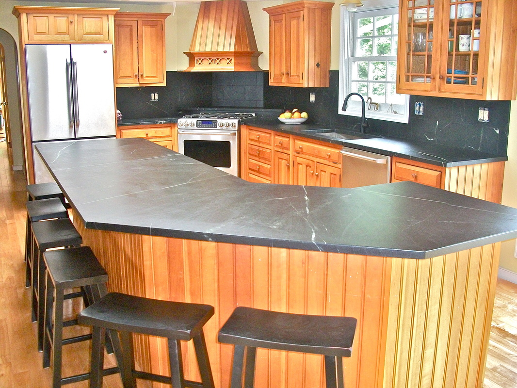 soapstone countertops nh soapstone kitchen countertops New Hampshire Craftsmen Launch Soapstone And Woodworking Business