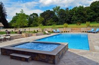 Far Hills NJ Inground Swimming Pool Awarded for Design