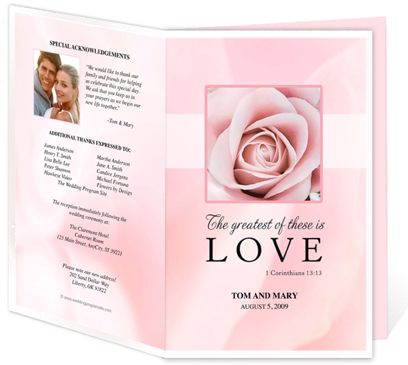funeral program template microsoft - free funeral templates for word