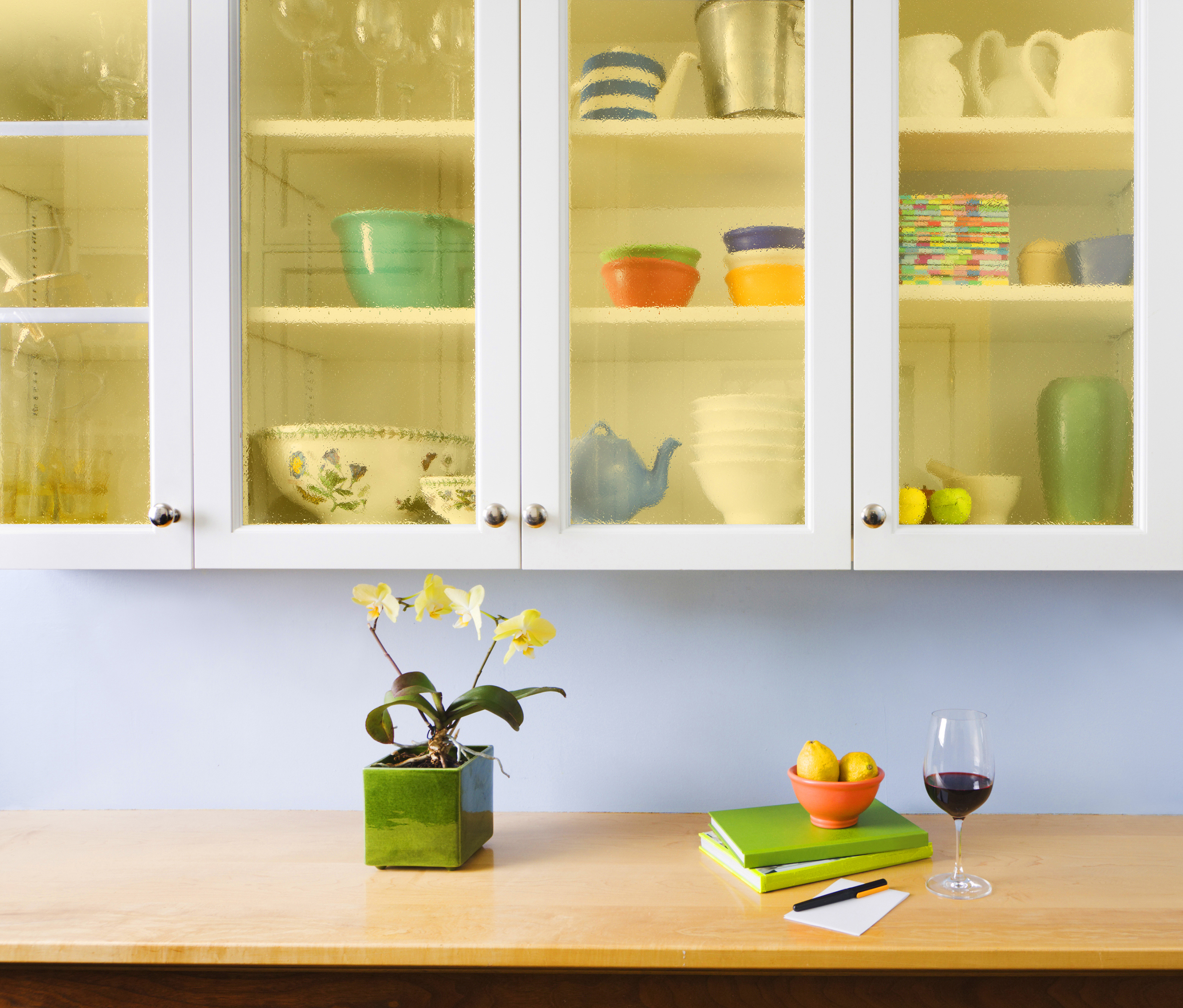 Kitchen Cabinet Door Glass Inserts Do It Yourself Kitchen Cabinets Makeover How To Install New