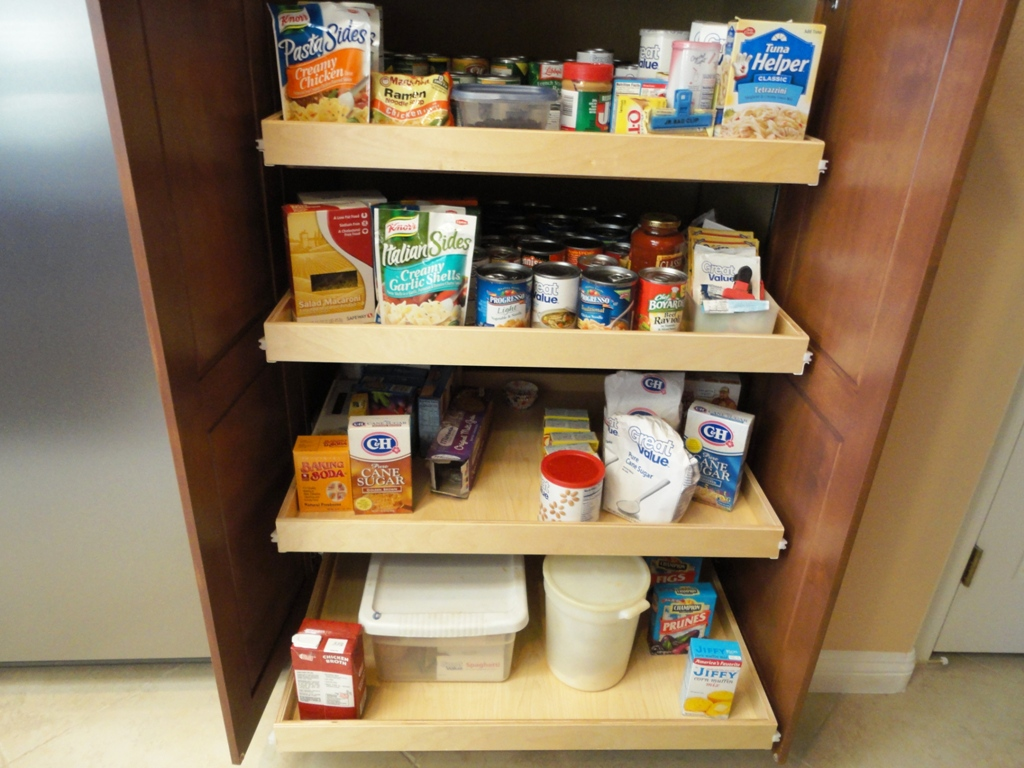 Cabinet Pull Out Shelves Kitchen Pantry Storage Slide Out Shelves Llc Adds To Their Kitchen Pull Out