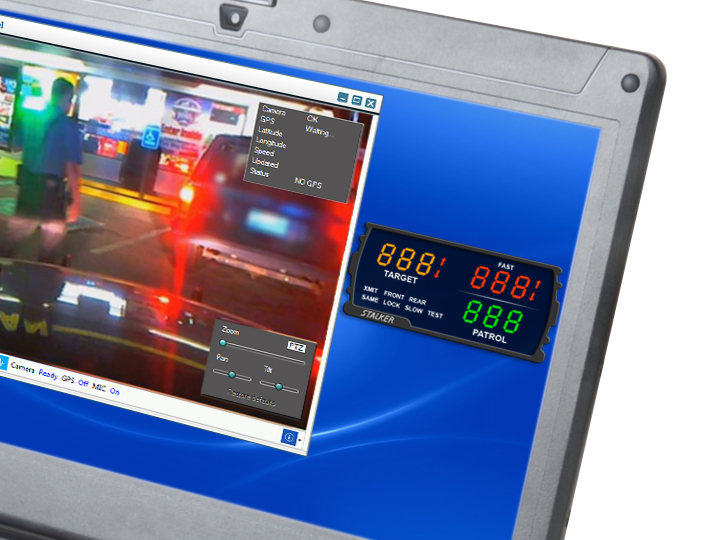 CopTrax In-Car Video System integrating Google Glass