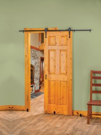 New Rolling Barn-Style Door Hardware Creates Stylish ...