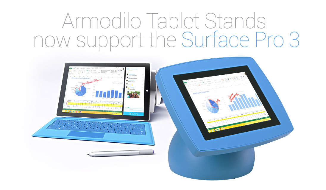 Armodilo Tablet Enclosures And Stands Add Support For The Microsoft - microsoft surface support number