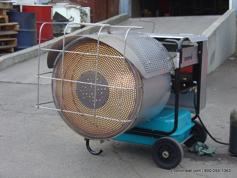 Omni Announces the Debut of the OWR-150 Portable Waste Oil Heater