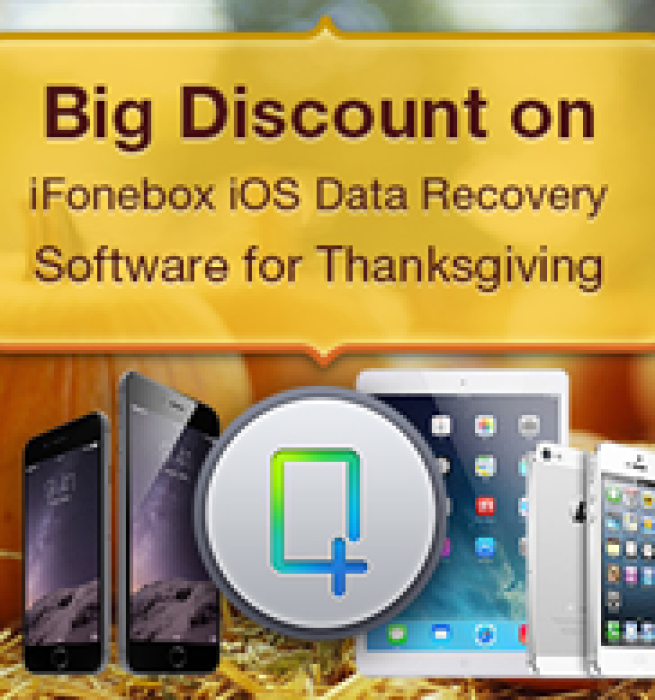 Auntec Offers Big Discount on iFonebox iOS Data Recovery Software for Thanksgiving