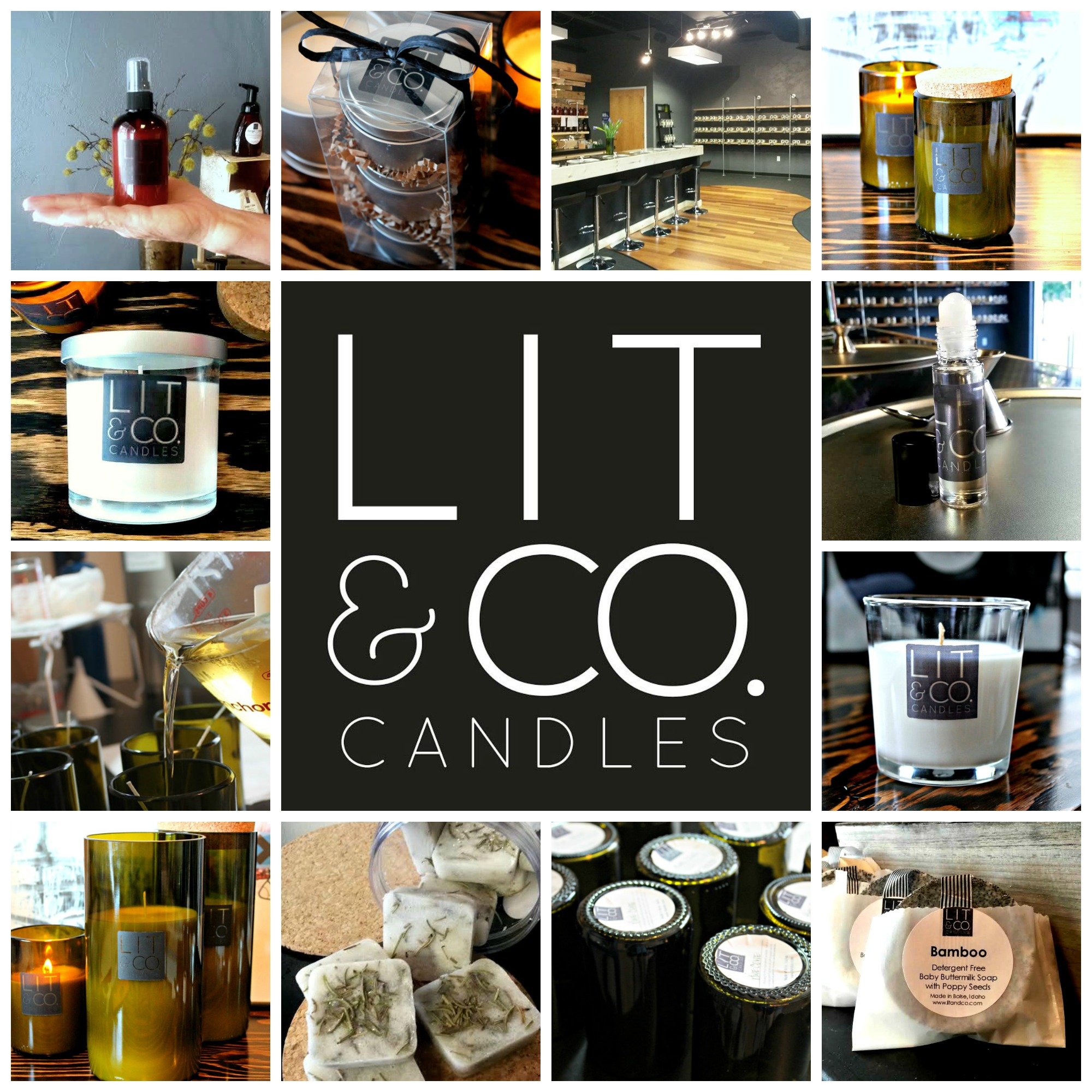 Bezed Lit Upscale Travel Candles From Boise Based Lit And Co Part Of