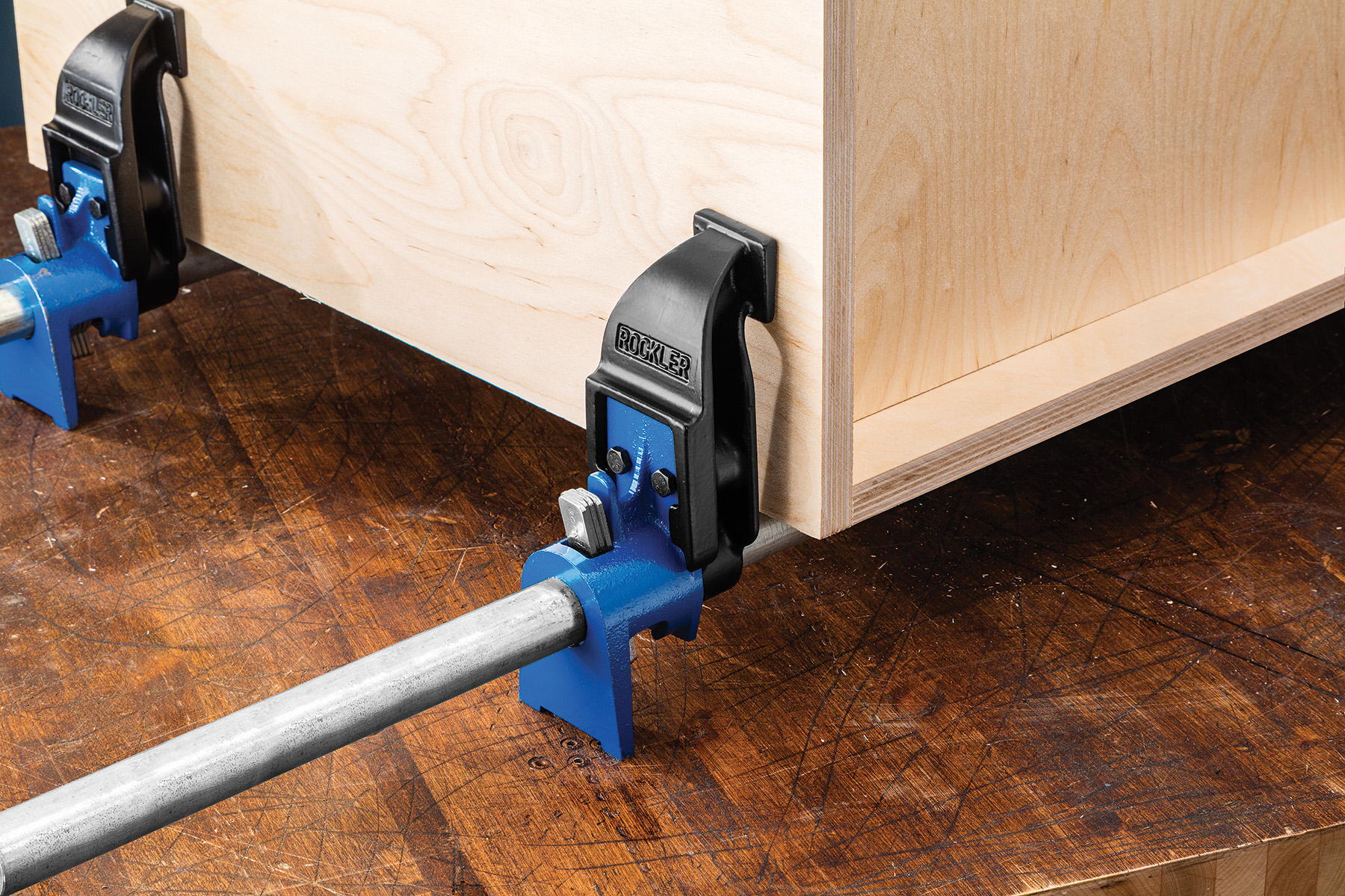 Rockler Boosts Pipe Clamp Range And Versatility With New
