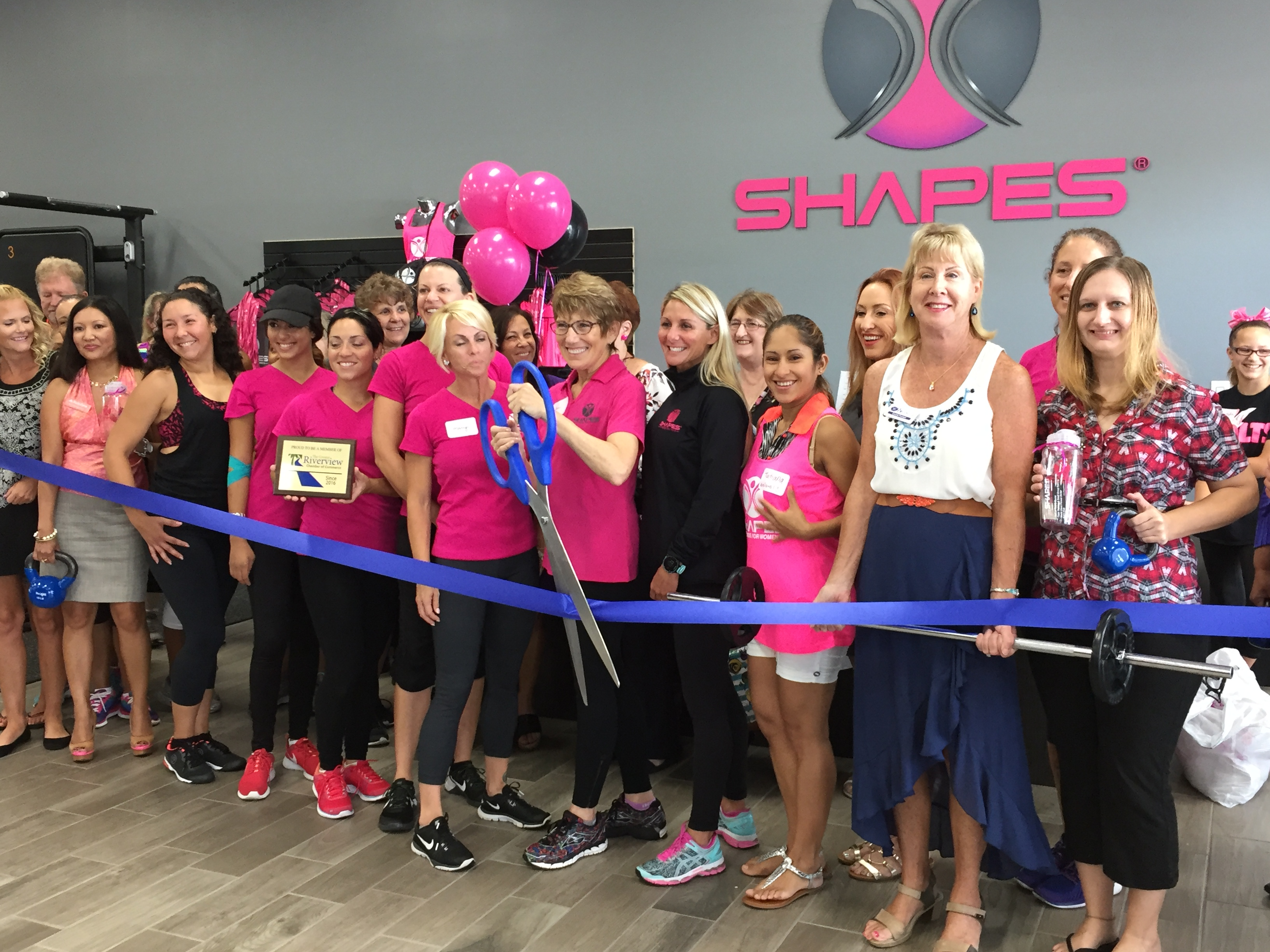 Fitness Center Membership Shapes Fitness For Women Franchise Opens In Riverview, Florida