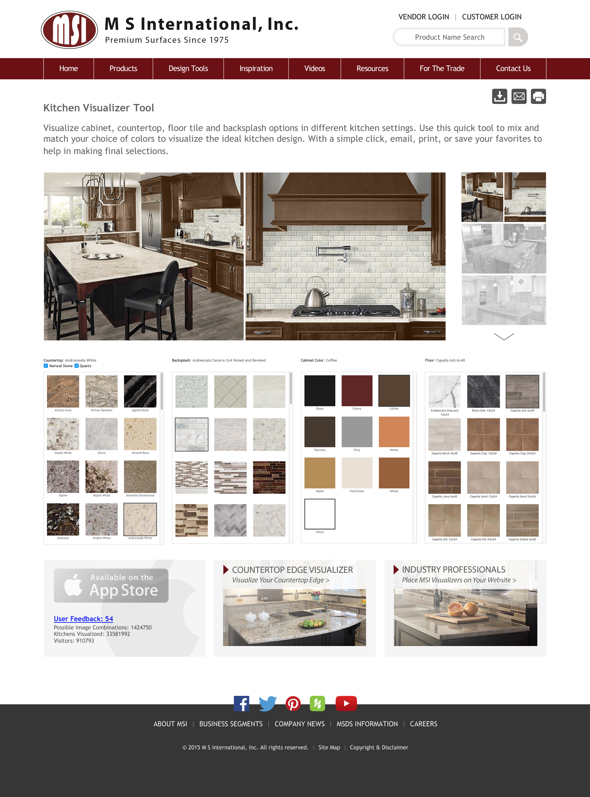 Virtual Design Of Kitchen M S International Inc Announces Updates To Its Virtual