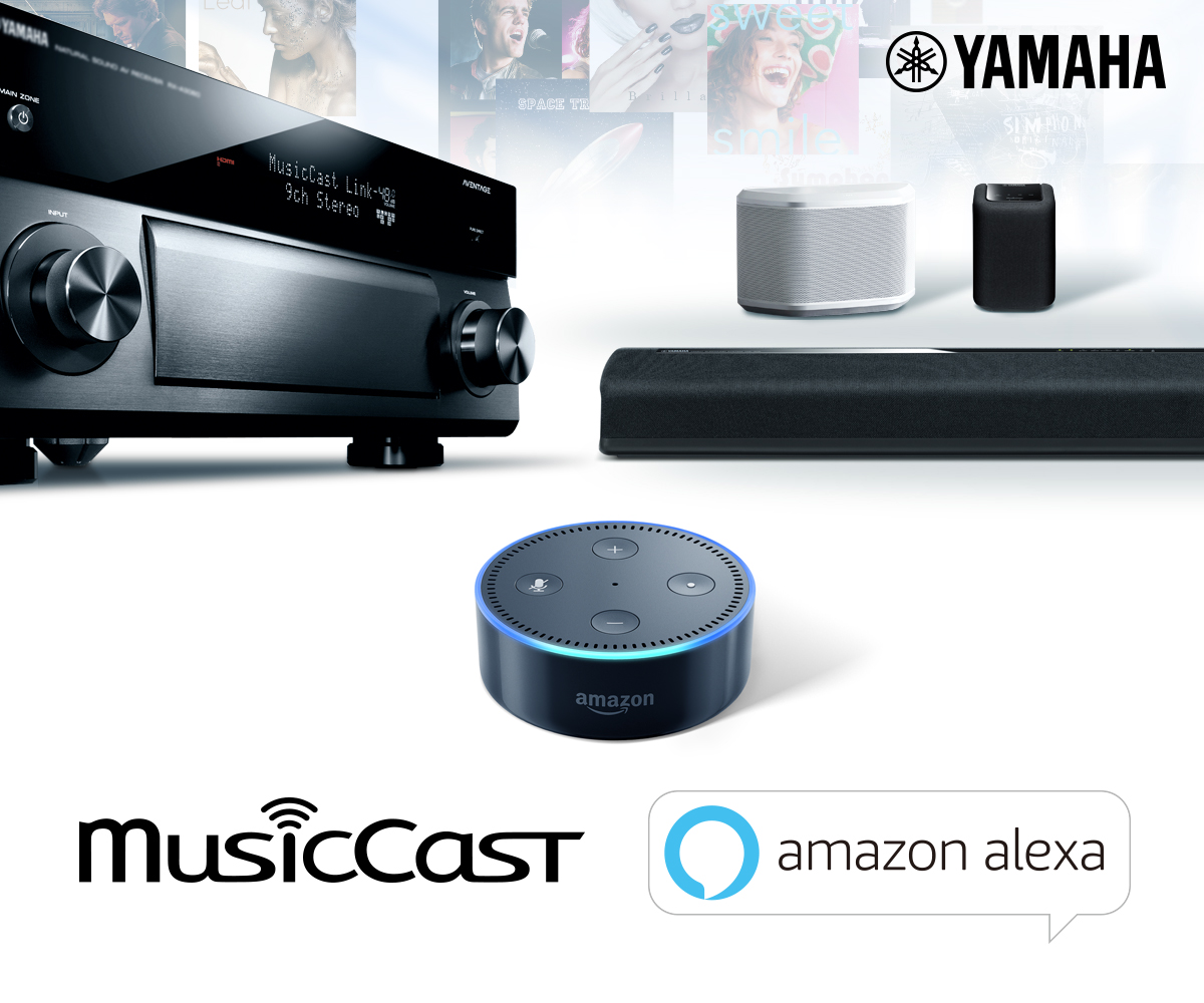 Alexa Audio Yamaha To Add Amazon Alexa Voice Control To Musiccast