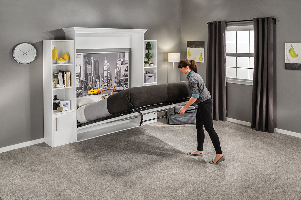 Twin Murphy Bed Rockler Adds New Line Of Diy Murphy Bed Kits