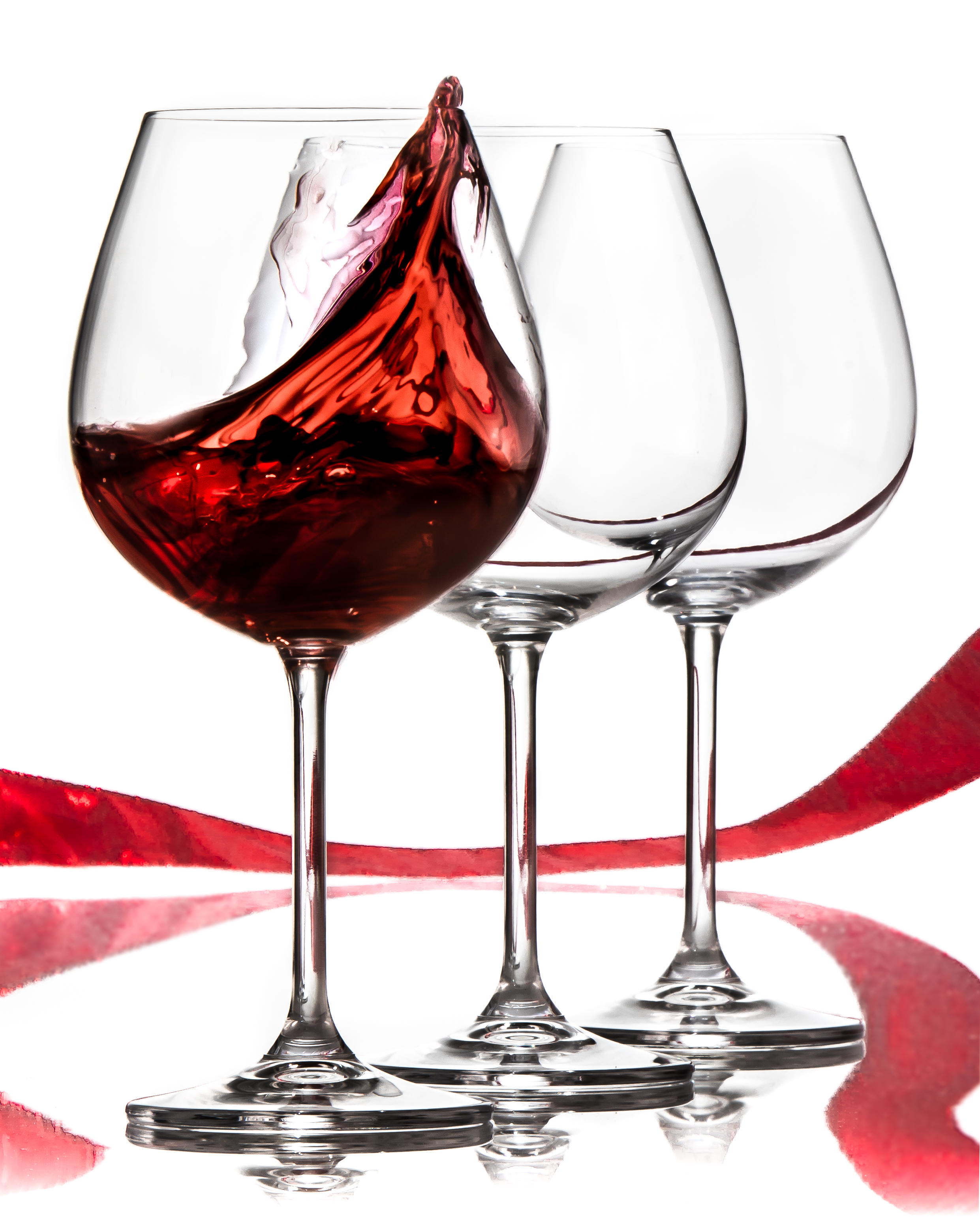Crystal Stemware Wine Glasses Titanium Takes Crystal Wine Glasses To A New Level