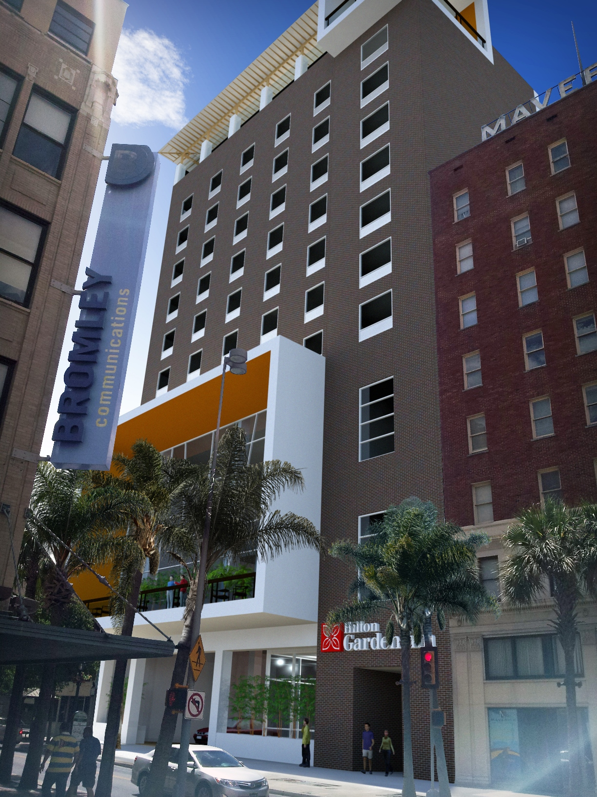 Hotels Inn Hilton Garden Inn San Antonio Downtown Expands Presence