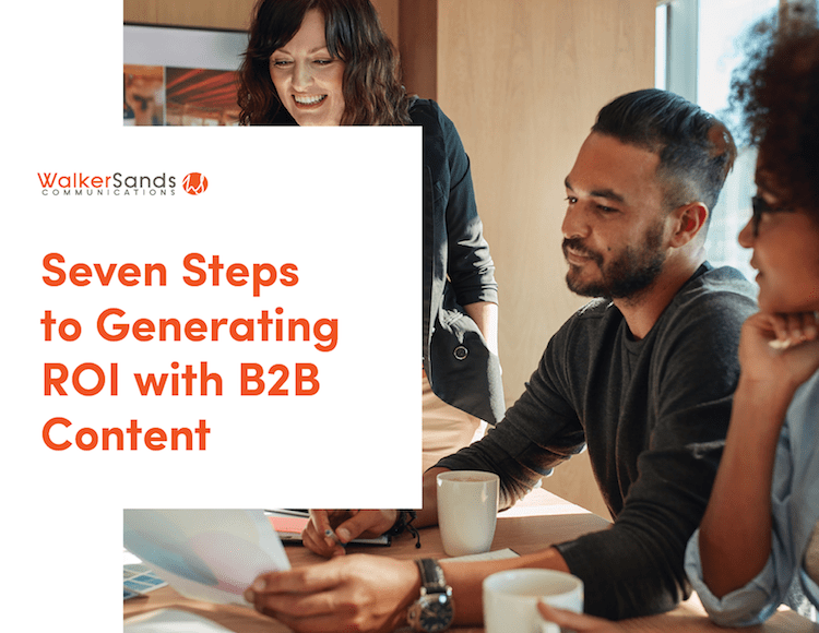 Walker Sands Releases Guide To Generating Roi With B2b Content