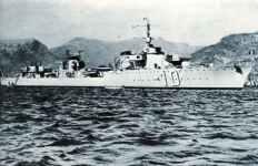French fast fleet destroyer Le Fantasque