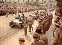 Hungarian military parade