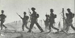 Outbreak of British infantry from Tobruk