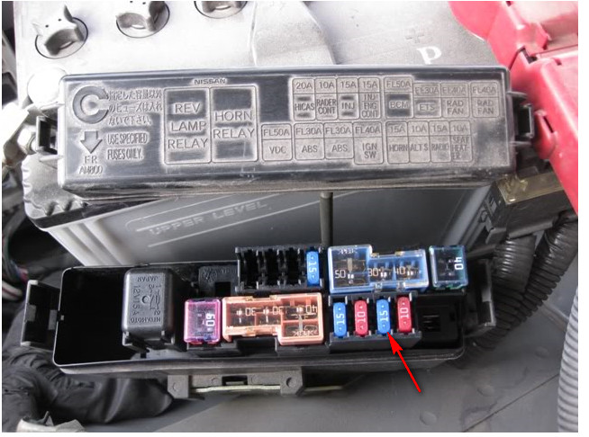 for 2004 infiniti g35 fuse box
