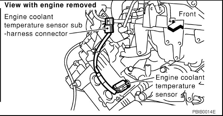 volkswagen engine coolant temp sensor fault