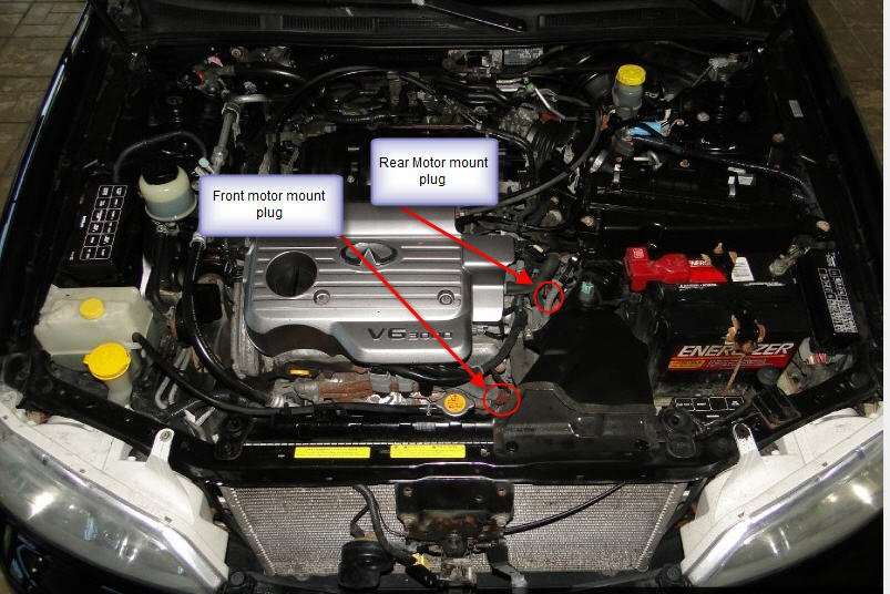 I have a 2001 infiniti I30t that am replacing the IACV and had the