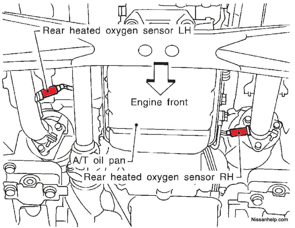 o2 sensor wiring diagram 2000 nissan quest