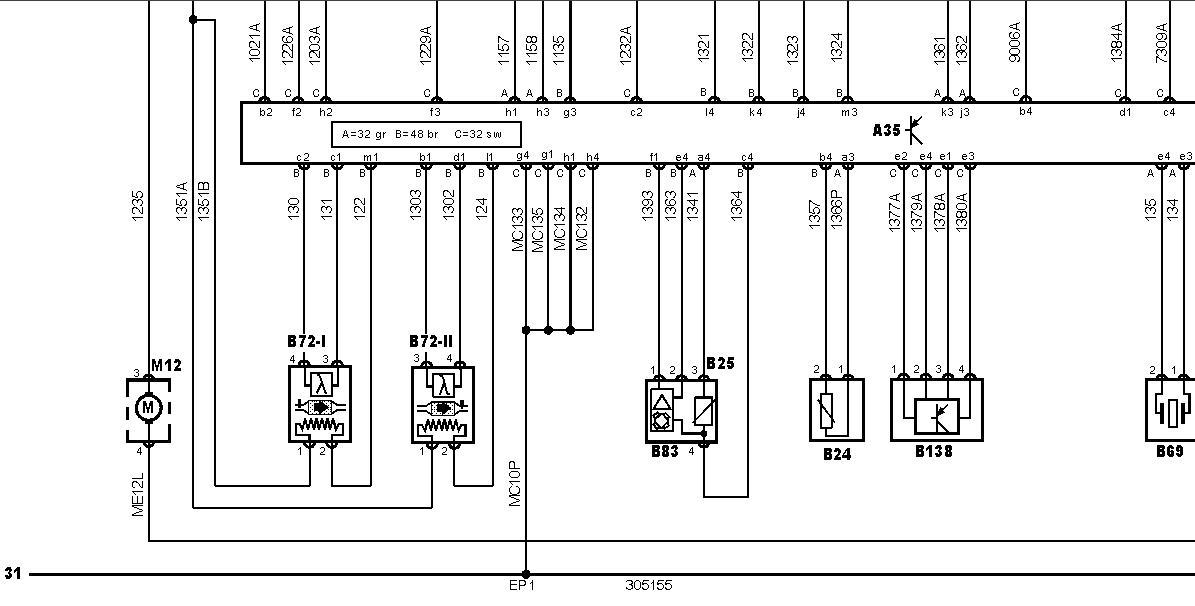 peugeot diagrama de cableado de la computadora