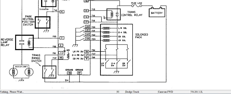 dodge diagrama de cableado de la computadora