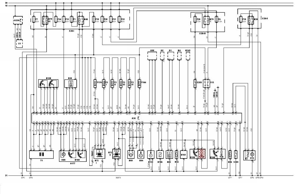 opel diagrama de cableado estructurado en