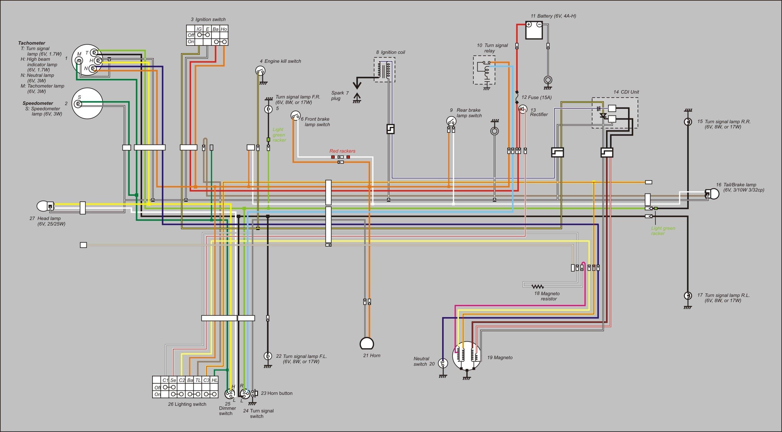 honda 90 atv wiring