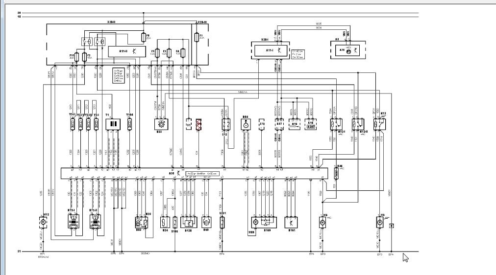 alvis car diagrama de cableado de lampara