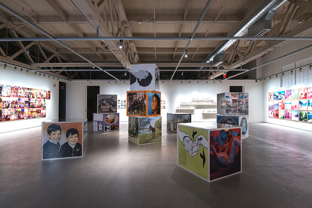 Erik Kessels, in almost every picture, installation shot, courtesy Pier 24 Photography