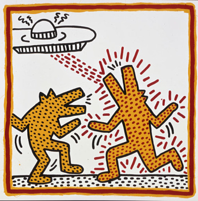 Keith Haring, Untitled, 1982