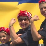 Three Generations of Rosie the Riveters Help Break World Record