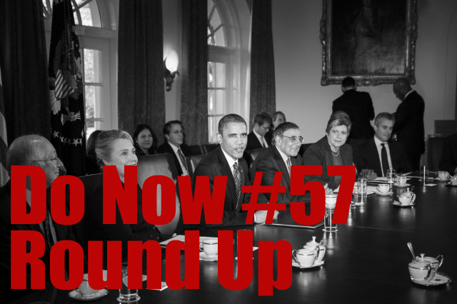 Do Now Round Up: President's Cabinet