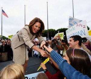 Michelle Bachmann at a GOP Rally