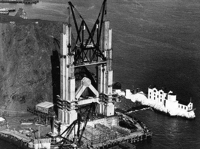 Golden Gate Bridge History in Photos News Fix KQED News