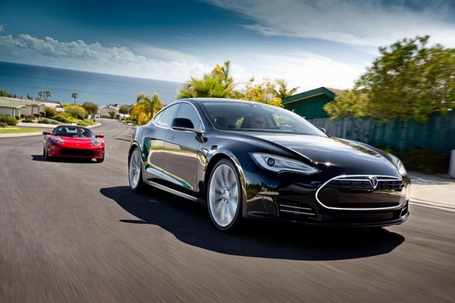 Tesla's Model S sedan (Tesla Motors)
