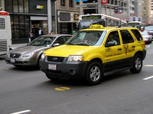 A cab in San Francisco. Photo by Claus Wolf/Flickr.