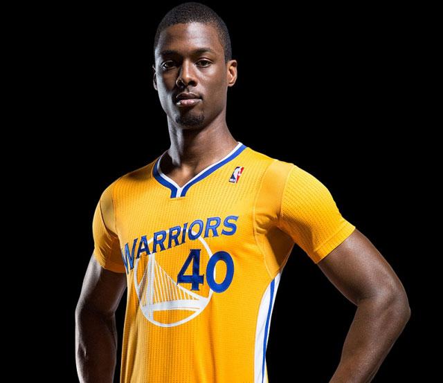 The Golden State Warriors' third jerseys. (Golden State Warriors and Addidas)