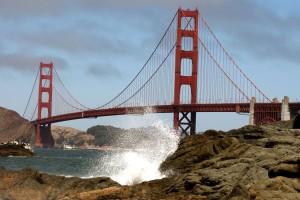 The Golden Gate Bridge on Aug. 23, 2007 in San Francisco, California. Justin Sullivan/Getty Images)