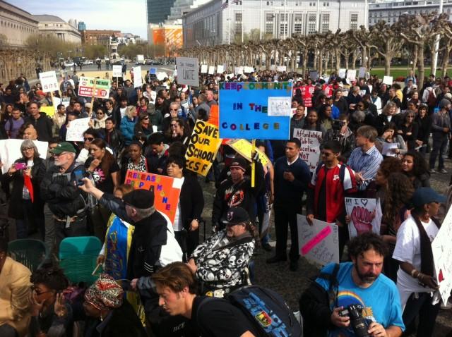 City College protest