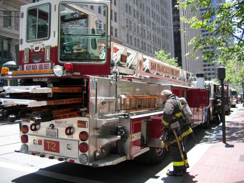The San Francisco Fire Department used up its $38 million overtime budget and is asking for $4.1 million more. (Sam Newman/Flickr)